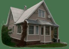 Дом с оконом